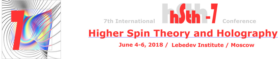 Higher Spin Theory and Holography, Jun, 2018, Lebedev Institute